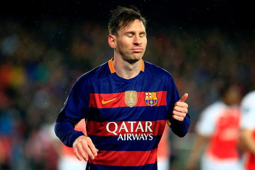 Barcelona's Argentinian forward Lionel Messi has said he will take legal action