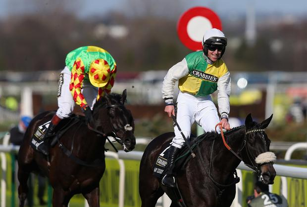 In shape: Leighton Aspell on Many Clouds celebrates last year