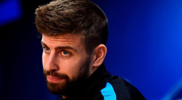 No fear: Gerard Pique isn't scared by Atletico Madrid