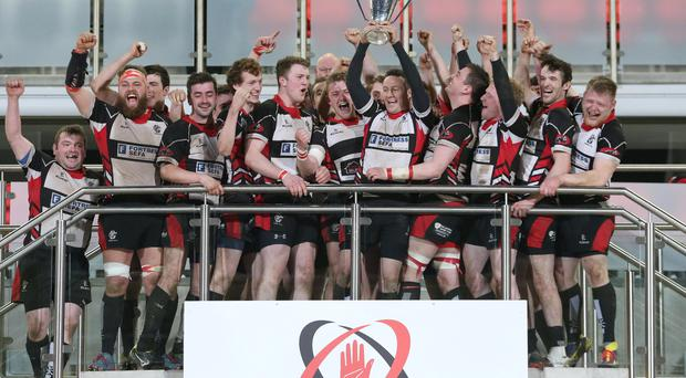 We've done it: Cooke celebrate McCrea Cup success at Kingspan