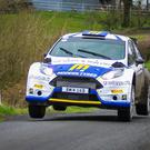 On the road again: Alastair Fisher is aiming to emulate his uncle Bertie on the circuit