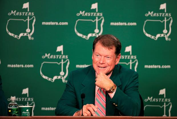 Saying goodbye: Tom Watson will appear at his last Masters