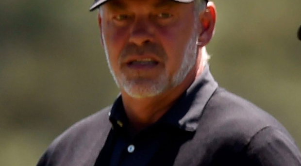 Final bow: Darren Clarke is set for his Masters farewell
