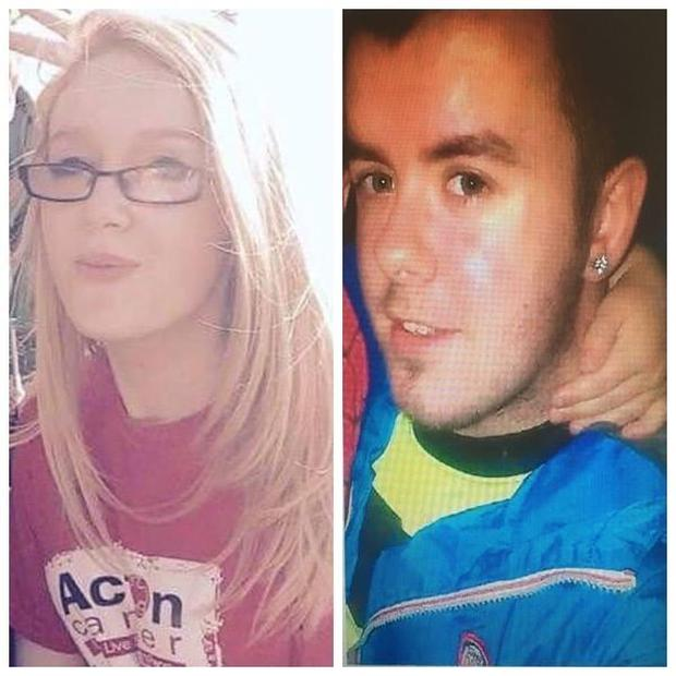 Missing: Chelsea McGarry and Daire McIlroy