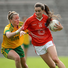 Pointing ahead: Aimee Mackin hit 1-7 in the win over Dublin