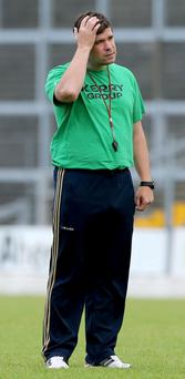 Kerry manager Eamon Fitzmaurice