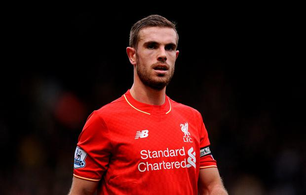 Unlucky: Jordan Henderson has suffered a knee injury
