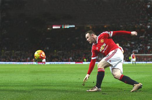 On way back: Wayne Rooney is closing in on a return to first-team action with Manchester United and will play for the under-21s on Monday
