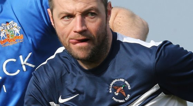 Sat out: Ivan Sproule wasn't able to play against Linfield