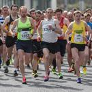 Start of the TQ10K Road Race. Pic Bob Given