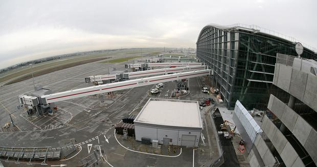 Terminal 5 building at Heathrow Airport