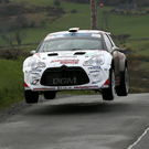 Power up: Craig Breen retained his Circuit of Ireland crown and will now drive for Citroen on the World stage Photo: David Maginnis/Pacemaker Press