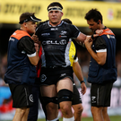Injury blow: Marcell Coetzee has been sidelined for nine months