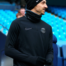 Mission: Zlatan Ibrahimovic is aiming to regain his sharpness