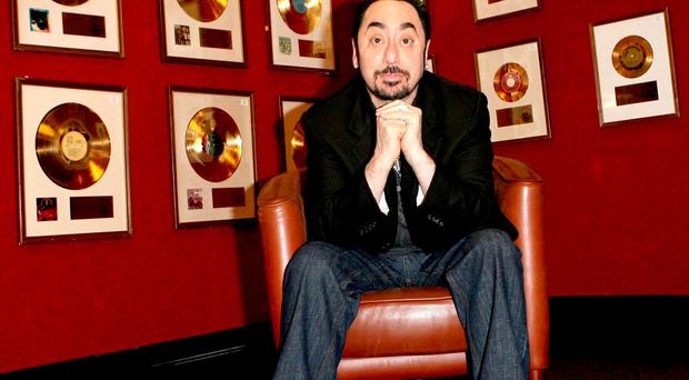 File photo dated 21/11/07 of David Gest posing with his Entertainment Collection prior to it's auction at Bonhams in Knightsbridge, London, as the reality TV star and music producer has died today in London aged 62, his friend Imad Handi said in a statement. Photo: Anthony Devlin/PA Wire