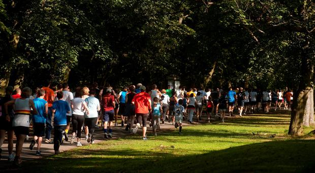 File photo dated 25/07/09 of a parkrun event, as gold medal-winning runners Paula Radcliffe and Kelly Holmes have joined thousands in criticising a parish council's decision to charge for a weekly fun run. Gareth Copley/PA Wire