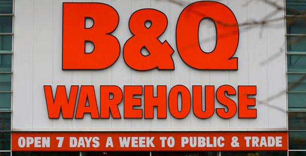 A total of around 300 jobs are expected to be lost when B&Q closes five stores here