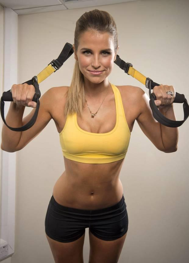 Irish model and gym bunny Vogue Williams Photo: Instagram