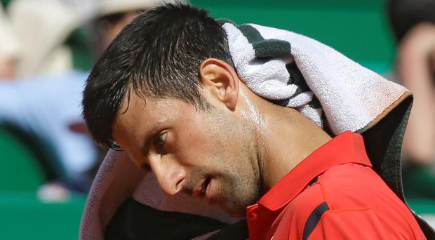 Novak Djokovic has been eliminated from the Monte-Carlo Masters