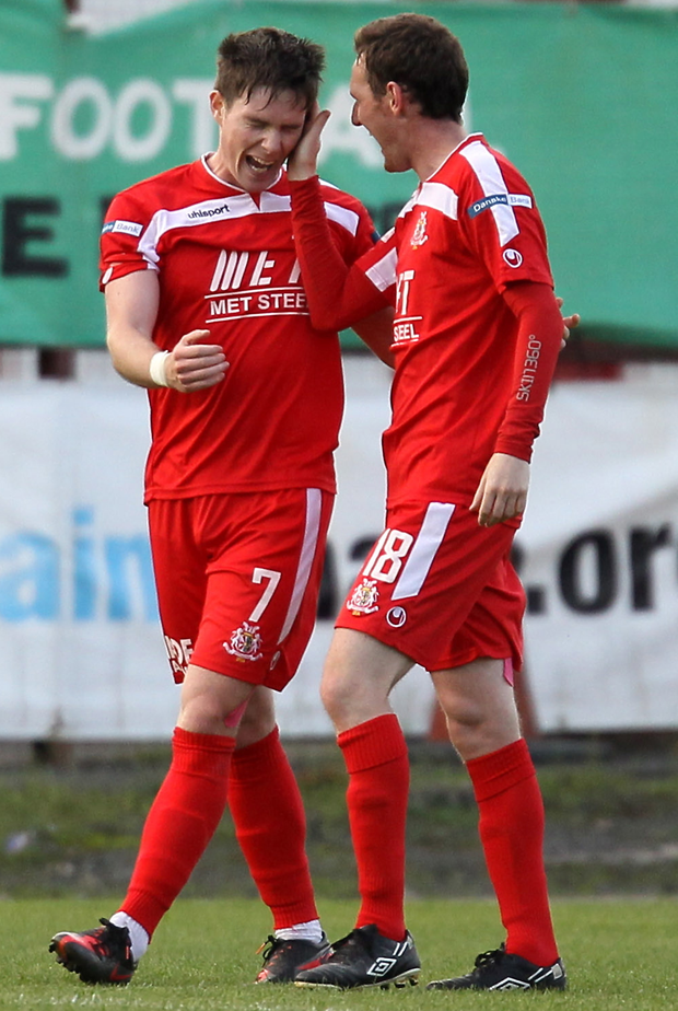 Probe: Portadown duo Peter McMahon and Gary Twigg