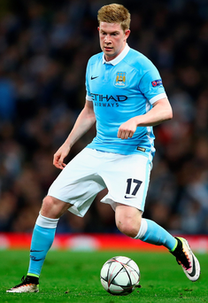 Kevin De Bruyne fired Man City into the semi finals of the Champions League