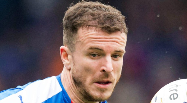 Andy Halliday is looking forward to his first Old Firm derby