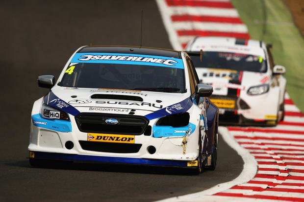Donington bound: Colin Turkington will be behind the wheel in the second round of the BTCC series