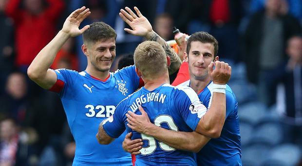 Glasgow debut: Dominic Ball of Rangers can wait to get his first taste of Old Firm football on Sunday