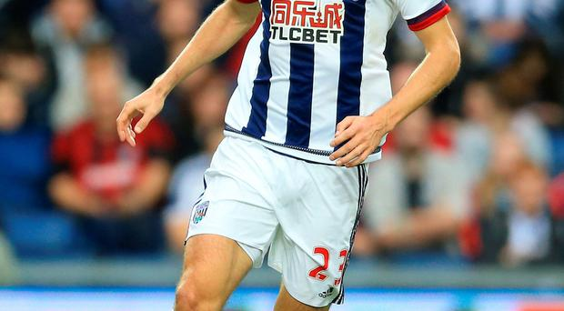 Extension: Gareth McAuley has agreed a new WBA contract