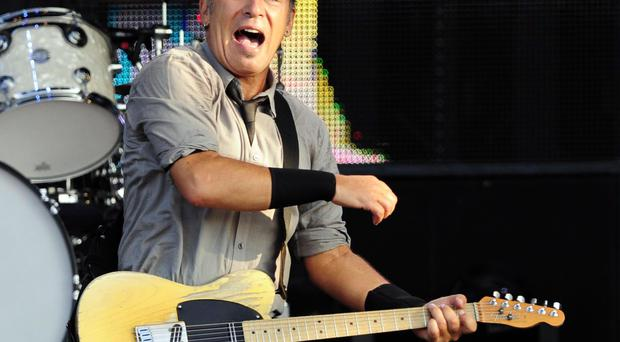 Bruce Springsteen playing Belfast in 2013