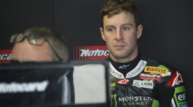 Out in front: Jonathan Rea is keen to extend his title lead