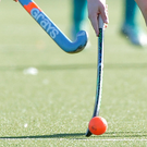 Ulster Premier League champions Lurgan got their bid to reach next season's Irish Hockey League off to a winning start last night when they beat Randalstown 1-0 in the provincial play-off series at Comber Road