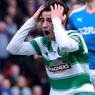 Shocking miss: Patrick Roberts