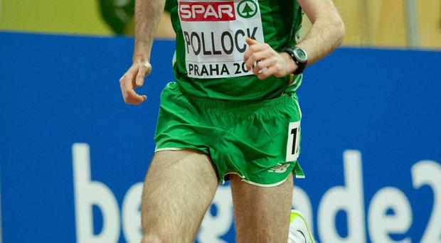 Sidelined: Paul Pollock won't race in the London Marathon