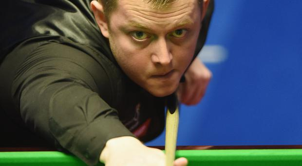 Right on cue: Mark Allen is feeling in fine fettle as he begins his quest to banish a recent poor record at The Crucible