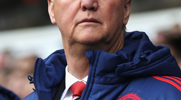 Top four finish: Louis van Gaal