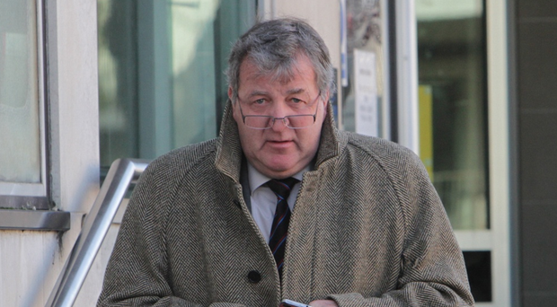 Iain Halliday at court.