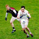 Sweeping up: Colm Cavanagh's new role within the Tyrone defence could prove crucial on Sunday against Cavan
