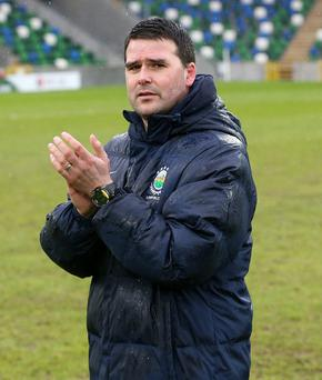 New challenge: David Healy wants Linfield to return to summit