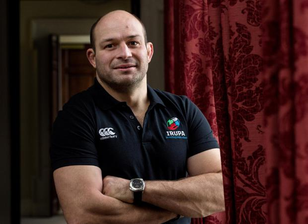 Shortlisted: Rory Best in final four for the IRU Players Association Players' Player of the Year award