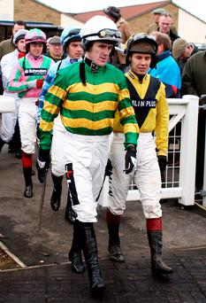 Friends and rivals: AP McCoy and Richard Johnson