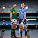 Old rivals: Kerry's Bryan Sheehan at Croke Park with Dublin ace Denis Bastick