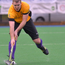 Up and away: William Robinson's goal helped Instonians win the play-offs to achieve IHL status