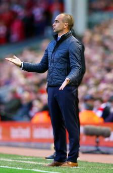 Under pressure: Roberto Martinez has overseen a run of poor results