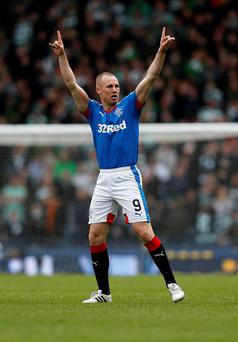 Fresh hunger: Kenny Miller has cast off early season frustration