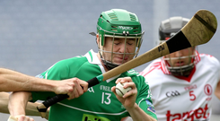 Going the distance: Sean Corrigan travels far and wide to turn out for his club Lisbellaw