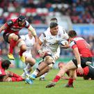 Premature end: Nick Williams, who will join Cardiff this summer, won't play for Ulster again after picking up an injury that has cut short his final season at the Kingspan Stadium