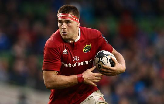 Looking up: Munster's CJ Stander is going out to reach Champions Cup