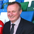 Bright future: NI boss Michael O'Neill