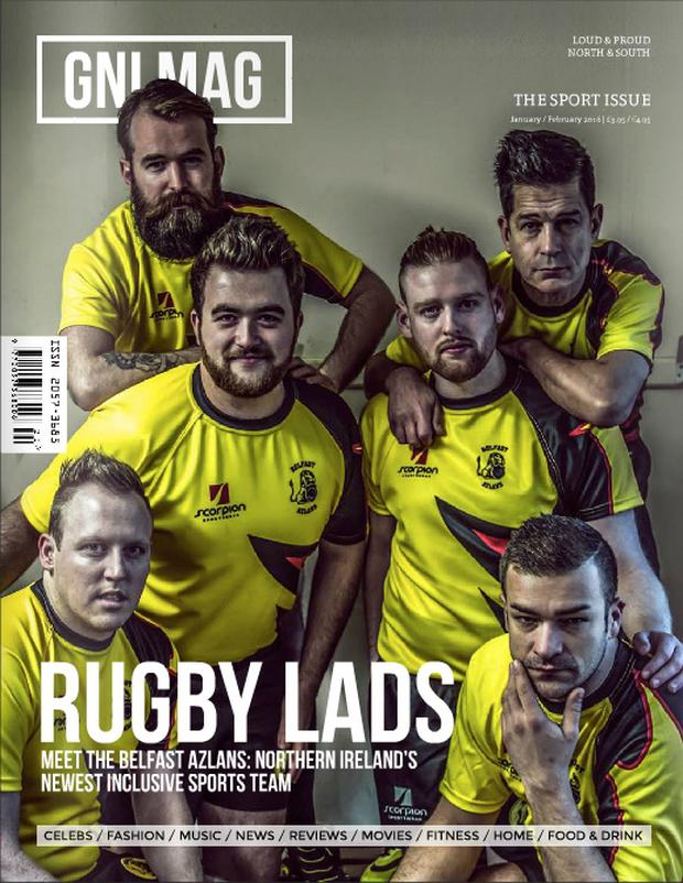 Belfast-based Azlans club on cover of GNI Mag